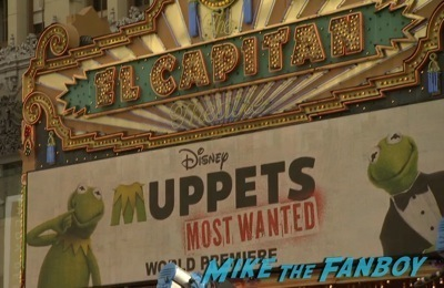 Muppets Most Wanted Movie premiere photo red carpet 19