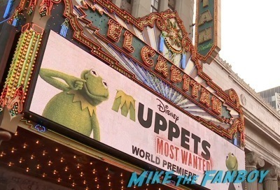Muppets Most Wanted Movie premiere photo red carpet 21