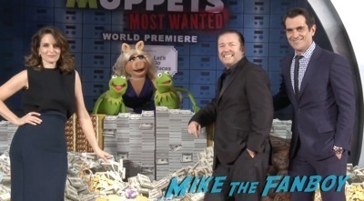 Muppets Most Wanted Movie premiere photo red carpet 8