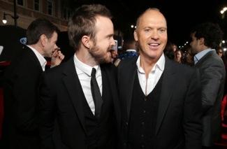 Aaron Paul, Michael Keaton