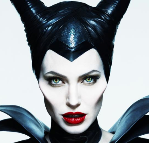 Maleficent movie poster angelina jolie rare hot promo disney