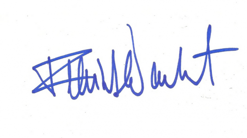 guess the autograph signed signature