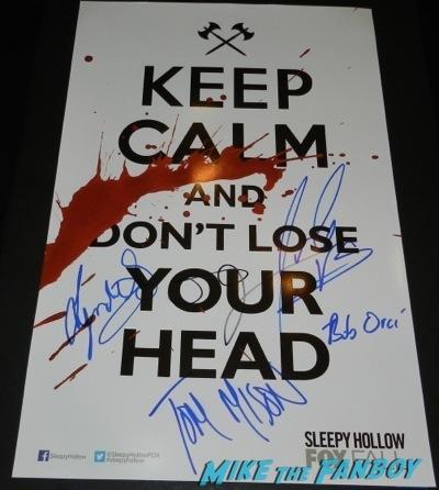 paleyfest signing autographs 2014 Sleepy Hollow Paleyfest 2014 tom mison orlando jones autograph signing 57