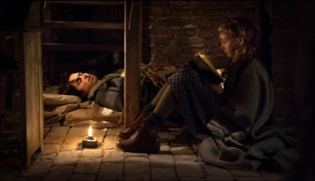 The Book Thief Blu Ray promo press still photo geoffrey Rush10