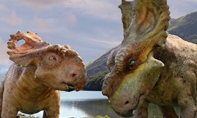 walking with dinosaurs press promo still photo