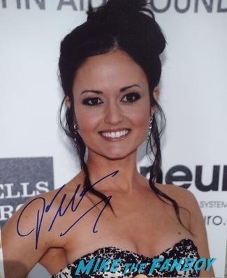 danica mckellar signing autographs wonder years rare candace cameron2