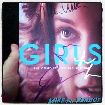 girls television academy event signing autographs lena dunham 8