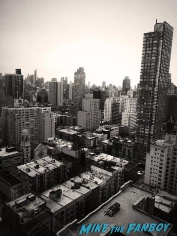 meeting ian McKellen on broadway in New York no man's land5