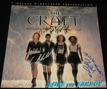 the craft signed autograph movie poster neve campbell rachel True signing autographs fanphoto meeting the craft star 7