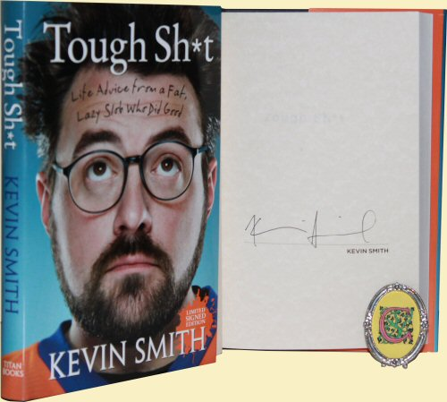 kevin smith sgned autograph book rare