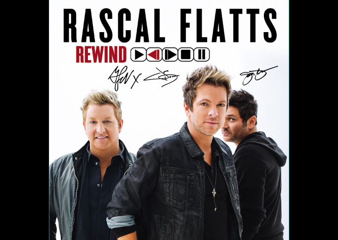 Rascal Flatts logo rare cd