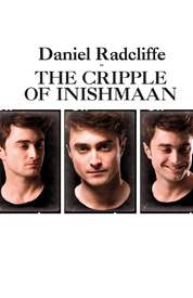 cripple of inishmaan promo poster daniel radcliffe