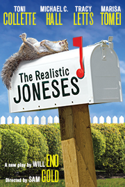 the realistic joneses broadway play poster
