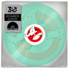 ray parker jr. ghostbusters glow in the dark picture disc