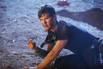 "DF-1379	Ryan Kwanten stars as ""Joe"" in Entertainment One's upcoming release, KNIGHTS OF BADASSDOM."