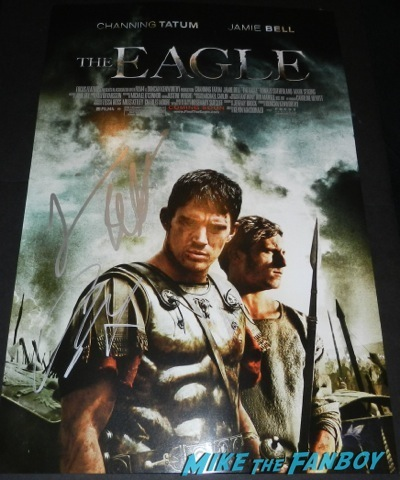 jamie bell signed autograph the eagle mini poster channing tatum