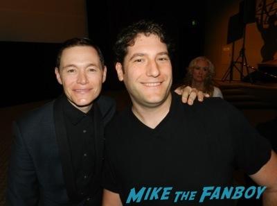 burn gorman fan photo signing autographs AMC's turn emmy event jamie bell signing autographs fan photo3