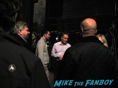 Bryan Cranston signing autographs all they way broadway fan photo 1