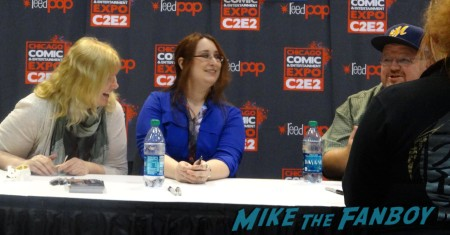 L to R: Kerrelyn Sparks (Love at Stake series), Lauren Roy (Night Owls) and Kevin Hearne (Iron Druid Chronicals)