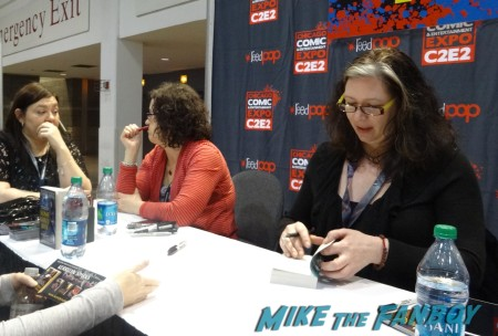 L to R: Chloe Neill (Chicagoland Vampires) and Jacqueline Carey (Agent of Hel series)