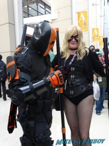 Deathstroke and Canary