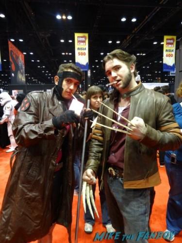 Gambit and Logan