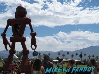 Coachella 2014 general atmosphere robot
