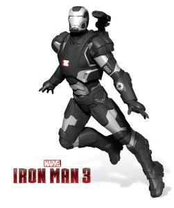 iron patriot iron man 3 hallmark exclusive sdcc 2014 ornament