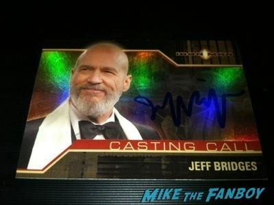 Jeff bridges signing autographs Signed autograph hot photo rare1