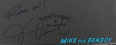 John Varvatos signing autographs fan photo rare 1
