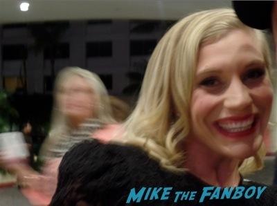 Katie Sackhoff fan photo signing autographs battlestar galactica 1