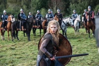 LAGERTHA, played by Katheryn Winnick, Shield Maiden Extraordinaire