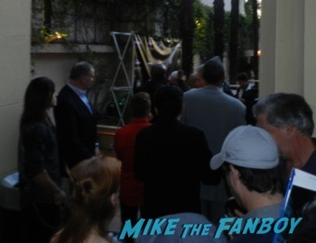 Malcolm McDowell q and a star trek generations signing autographs fan photo2