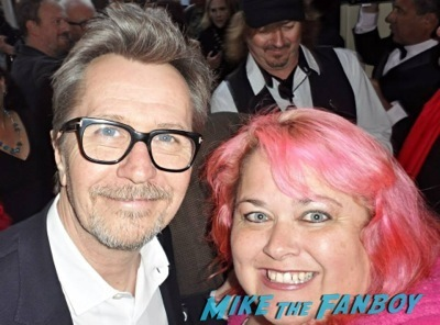 gary oldman signing autographs q and a rare clockwork orange 2