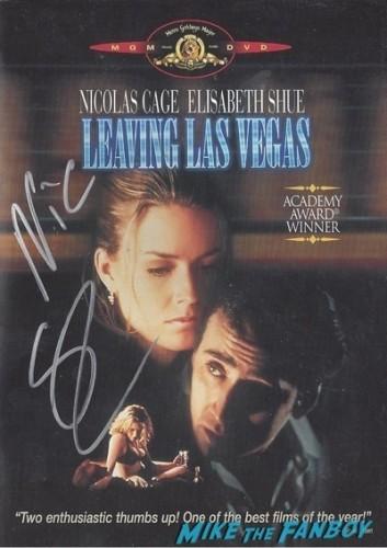 Nicholas cage fan photo signing autographs aero theater 20149