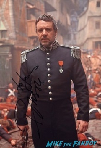 russell crowe signed autograph photo rare