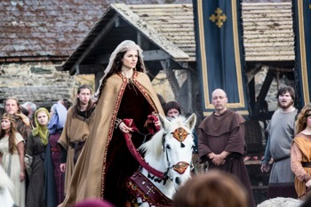 Princess Kwenthrith arrives at Wessex