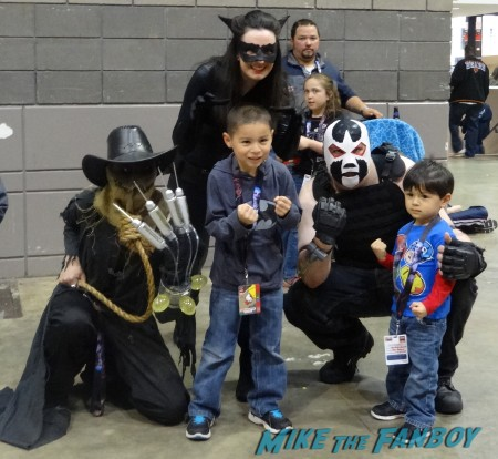 Scarecrow Catwoman and Bane