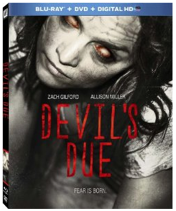 devil's Due key art blu-ray cover rare