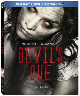 devil's Due key art blu-ray cover rare
