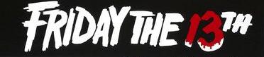 Friday the 13th logo rare movie poster