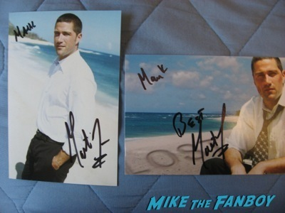 matthew fox Signed autograph hot photo rare1