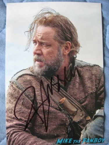 Russell Crowe Signed autograph hot photo rare4