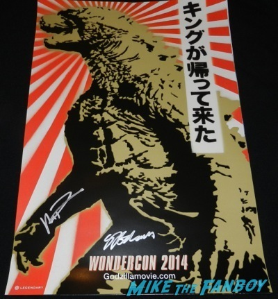 godzilla wondercon exclusive mini poster Wondercon 2014 cosplay morticia thor walking dead sons of anarchy149