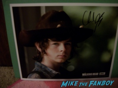 Chandler riggs at c2e2 chicago fan expo cosplay tyler posey teen wolf alfie allen 9