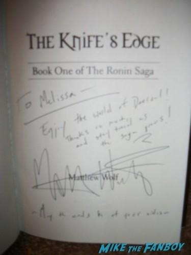 Matthew Wolf  fan photo the knife's edge c2e2 chicago fan expo cosplay tyler posey teen wolf alfie allen 12
