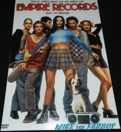 ethan embry empire records mini poster signing autographs empire records now 2014 star 4