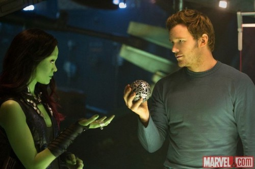 Guardians of the Galaxy behind the scenes still photo rare