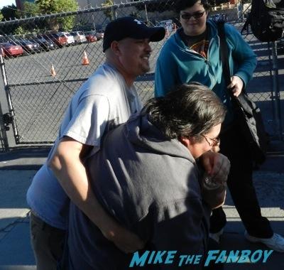 jonah hill signing autographs jimmy kimmel live 20146