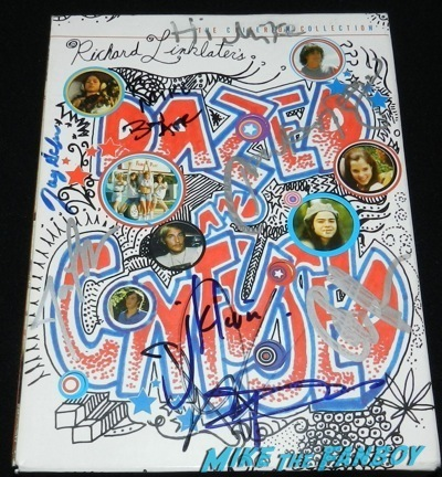 dazed and confused signed autograph criterion dv cover cole hauser